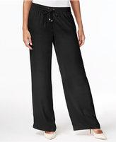 Calvin Klein Wide-Leg Soft Pants