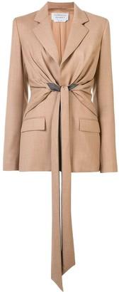 Gabriela Hearst Grant Knotted blazer