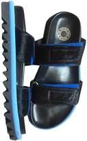 Dries Van Noten Black Pony-style calfskin Sandals