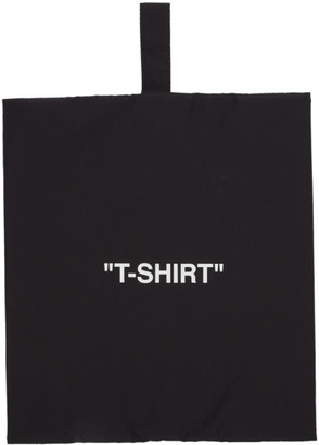 Off-White Black T-Shirt Pouch
