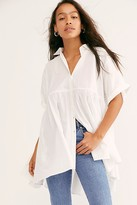 Free People Out In The Wild Tunic by Free People, White, XS