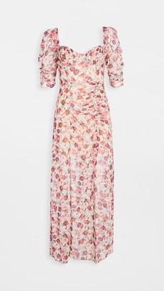 For Love & Lemons Evie Maxi Dress