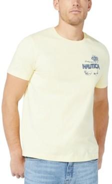 Nautica Men's Postcard Logo T-Shirt