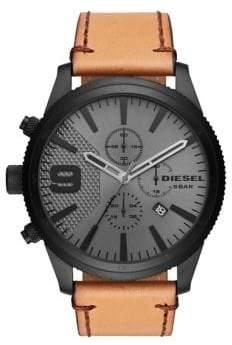 Diesel Rasp Chrono 50mm Strap Watch