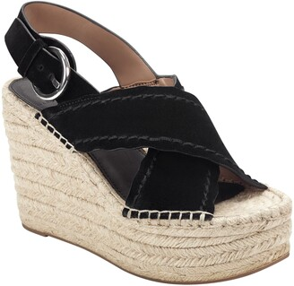 Marc Fisher Aria Espadrille Platform Wedge Sandal