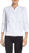 Zella Women's To The Max Mesh Bomber