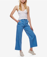 Free People Cotton Wide-Leg Jeans