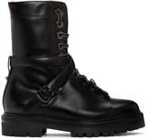 Valentino Black Combat Boots