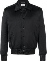Saint Laurent printed bomber jacket - men - Polyamide/Polyester/Spandex/Elastane/Wool - 50