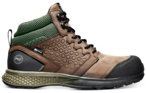 Timberland Men's Pro Reaxion Safety Toe Hiking Boots Men's Shoes