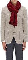 Barneys New York Men's Rib-Knit Wool-Cashmere Scarf