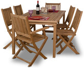 International Home Miami Amazonia Teak Rotterdam 7Pc Dining Set