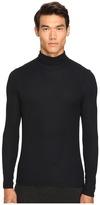 ATM Anthony Thomas Melillo Long Sleeve Rib Turtleneck Sweater Men's Sweater