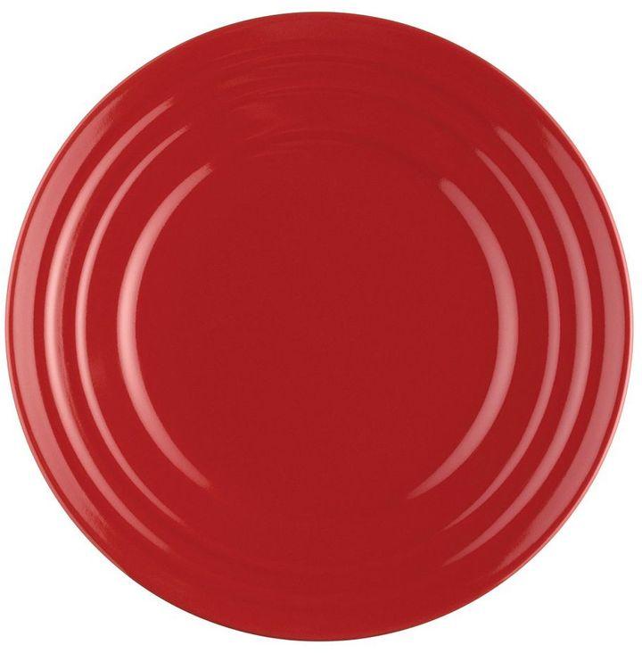Rachael Ray double ridge red 4-pc. salad plate set