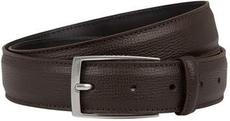 Sandro Grained Leather Belt