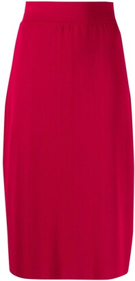 Céline Pre Owned 1990s Pre-Owned Straight Skirt