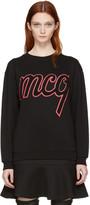 McQ by Alexander McQueen Black Logo Classic Pullover