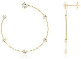 Natori Indochine Medium Diamond Hoops