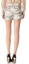 Alice + Olivia Cady Cuff Shorts