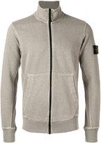 Stone Island zip-fastened sweatshirt