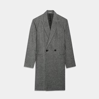 Theory Double-Breasted Manroe Coat
