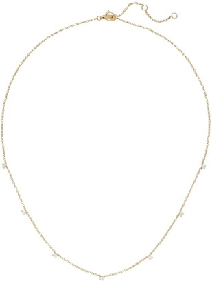Ef Collection Prong Set Diamond Necklace