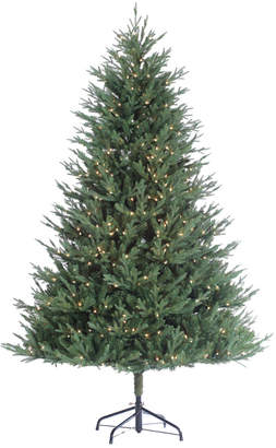 clear Sterling Tree Company 9Ft Stone Pine Pre-Lit Tree W White Lights