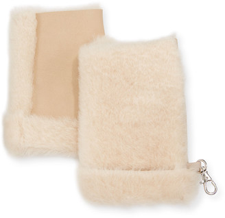 Gushlow And Cole Mini Reversed Shearling Mittens
