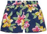 Polo Ralph Lauren Mid-length Printed Shell Swim Shorts