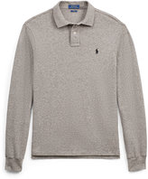 Ralph Lauren Slim Fit Mesh Long-Sleeve Polo