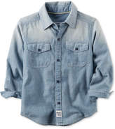 Carter's Cotton Chambray Shirt, Toddler Boys (2T-5T)