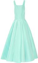 Oscar de la Renta Silk-faille Gown - Mint