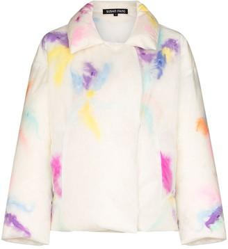 Susan Fang Blotted-Detail Padded Jacket