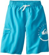 Quiksilver Eclipse Volley Board Shorts (Kid) - Hawaiian Ocean-Small