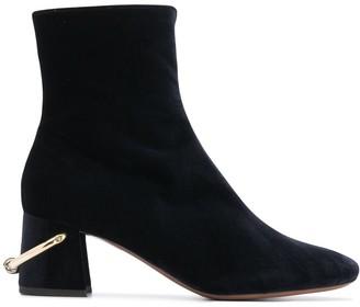 L'Autre Chose Side-Zip Boots