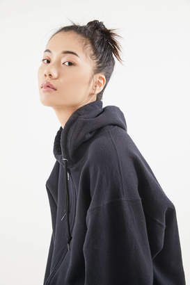 Urban Renewal Vintage Oversized Zip-Up Hoodie Sweatshirt