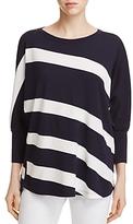 Lafayette 148 New York Bicolor Stripe Sweater