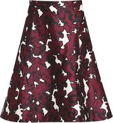 Oscar de la Renta Printed Skirt