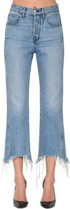 3x1 Shelter Crop Cotton Denim Jeans