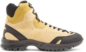 eye/LOEWE/nature Suede Hiking Boots - Beige