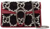 Gucci mini Dionysus GG tweed shoulder bag