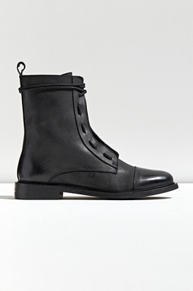 Urban Outfitters Leather Lace-Up Utility Boot