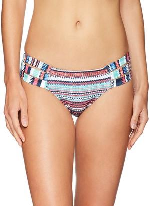 Jessica Simpson Women's Side Strap Hipster Bikini Bottom