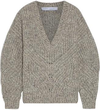 IRO Taloga Melange Ribbed-knit Sweater
