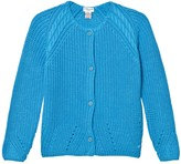Cyrillus Bright Blue Cotton Cardigan