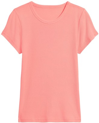 Banana Republic Fitted Ribbed T-Shirt