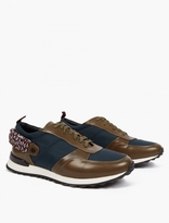 Oamc Panelled Para-Cord Sneakers