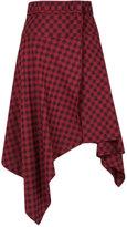 Lilly Sarti - checked midi skirt - women - Cotton - 40