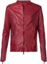 Giorgio Brato biker jacket - men - Leather - 48