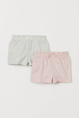 H&M 2-pack Jersey Shorts - Pink